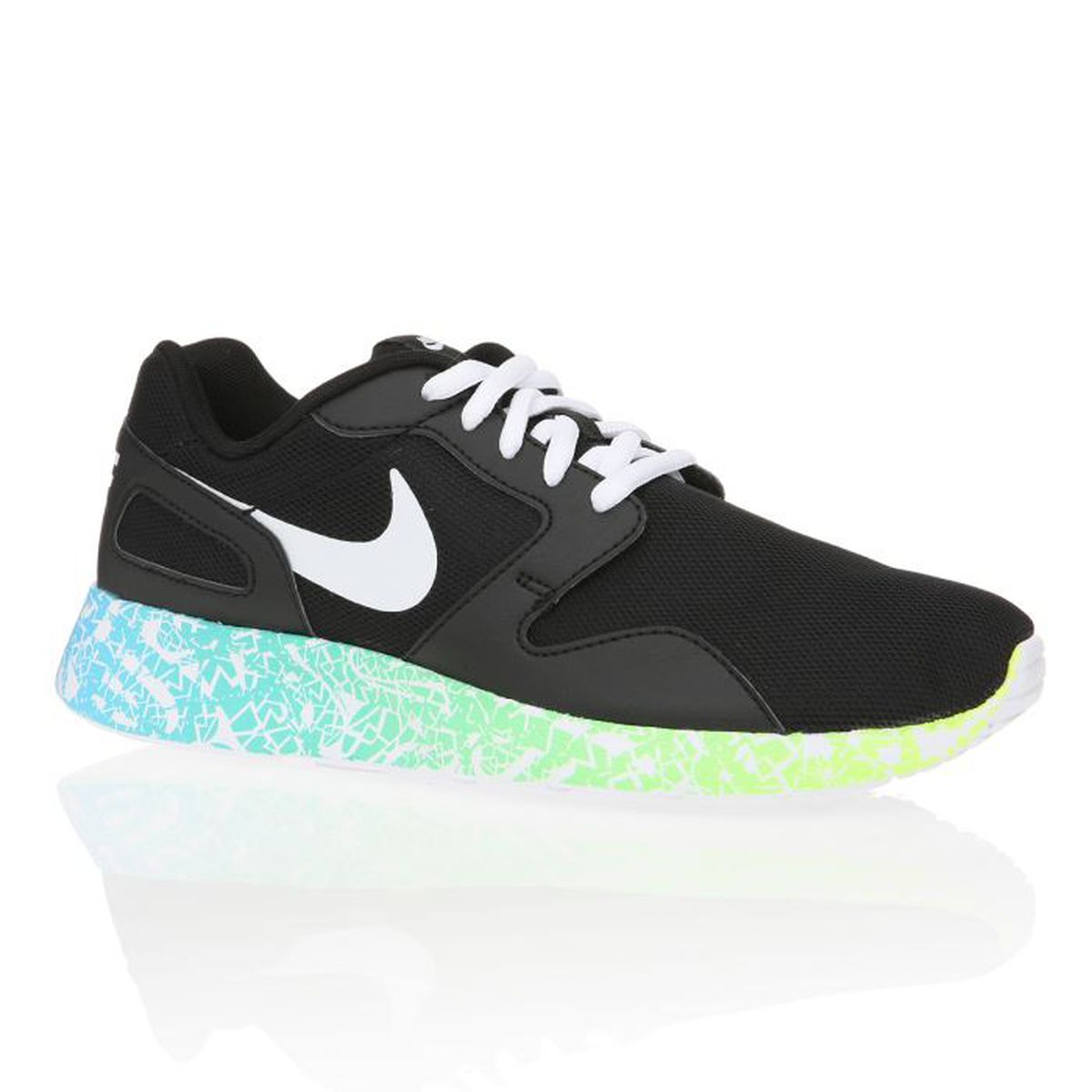 nike baskets kaishi run femme femme noir et blanc achat vente nike baskets kaishi run femme. Black Bedroom Furniture Sets. Home Design Ideas