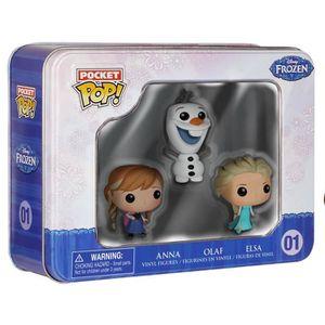 FIGURINE - PERSONNAGE Elsa, Anna, Olaf 01 Figurine De Collection KWX9V