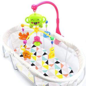 PARURE DE LIT BÉBÉ Soins bébéJouets bébé Lit Bell Berceau Mobile Musi