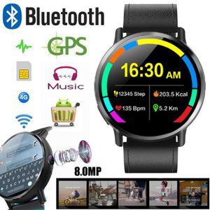 Montre connectée sport LEMFO LEM X 4G Smartwatch Téléphone 16 Go 8.0MP ca