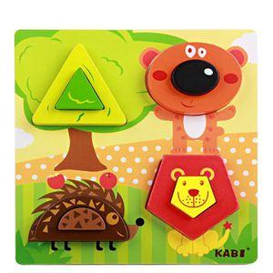 PUZZLE Puzzle en bois - animaux de la forêt PZ90