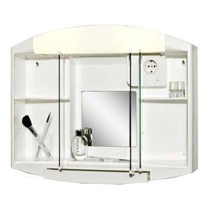 ARMOIRE DE TOILETTE Armoire de toilette Blanc.59x 49 x15,5cm