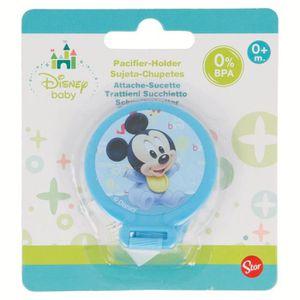 ACCESSOIRES SUCETTE  Attache Sucette Tututte Mickey Disney Baby Bleu 0