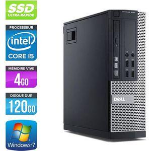 ORDI BUREAU RECONDITIONNÉ PC Dell 7010 SFF -Core i5-3470 3,2GHz -4Go -120Go