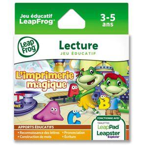 JEU CONSOLE ÉDUCATIVE LEAPFROG Jeu LeapPad Imprimerie Magique