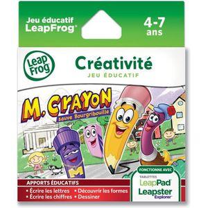 JEU CONSOLE ÉDUCATIVE LEAPFROG Explorer Jeu LeapPad Mr Crayon