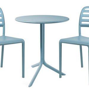 Ensemble table et chaise de jardin Petit salon de jardin & terrasse design Costa Spri