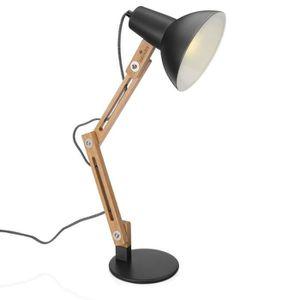 Vintage DEL banquier de table éclairage Bureau lecture lampe debout stand appoint Luminaire