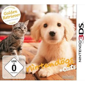 JEU 3DS NINTENDOGS + CATS GOLDEN RETRIEVER & SES NOUVEA…