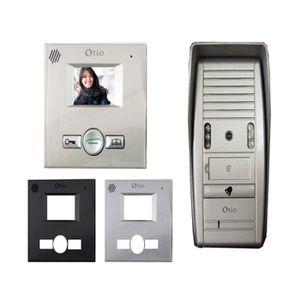 INTERPHONE - VISIOPHONE OTIO Mini Interphone vidéo couleur 2 fils