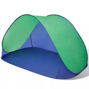 TENTE DE CAMPING Tente de plage pliante hydrofuge Vert