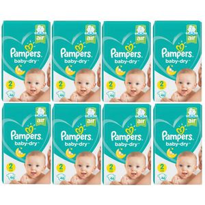 Kgs Nouveau emballage 368 Couches Pampers Baby Dry GIGA Taille 6 15