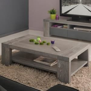 table basse chene gris achat vente table basse chene gris pas cher soldes cdiscount. Black Bedroom Furniture Sets. Home Design Ideas