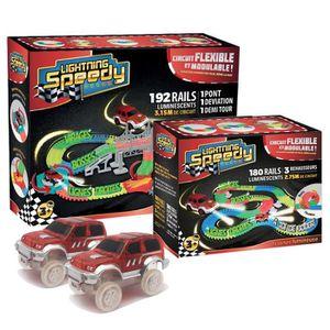 CIRCUIT Lightning Speedy Circuit de voiture flexible 372 r