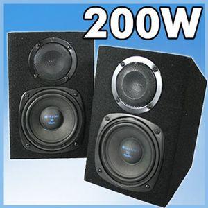 ENCEINTE ET RETOUR 2 enceintes DJ mixage 200W woofer HP 2 voies