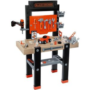 BRICOLAGE - ÉTABLI SMOBY Black & Decker Etabli Bricolo Center +92 Acs