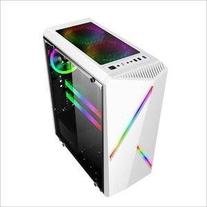BOITIER PC  Boîtier PC ATX m-atx ITX Audio HDD SSD 2 RGB Bande