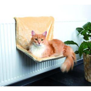 CORBEILLE - COUSSIN TRIXIE Hamac radiateur, peluche pour chat