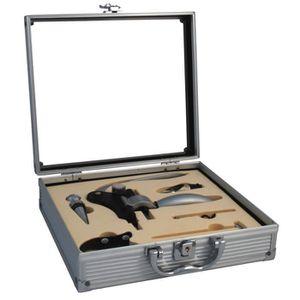 COFFRET SOMMELIER Coffret sommelier Pro métal 5 accessoires