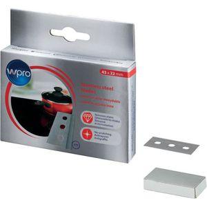 PIÈCE APPAREIL CUISSON Wpro BLA014 - Boîte de 10 lames en acier inoxysabl