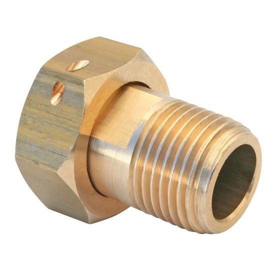 Tube et allonge de compteur Allonge laiton compteur M/âle-Femelle 3//4 Longueur 67,5mm