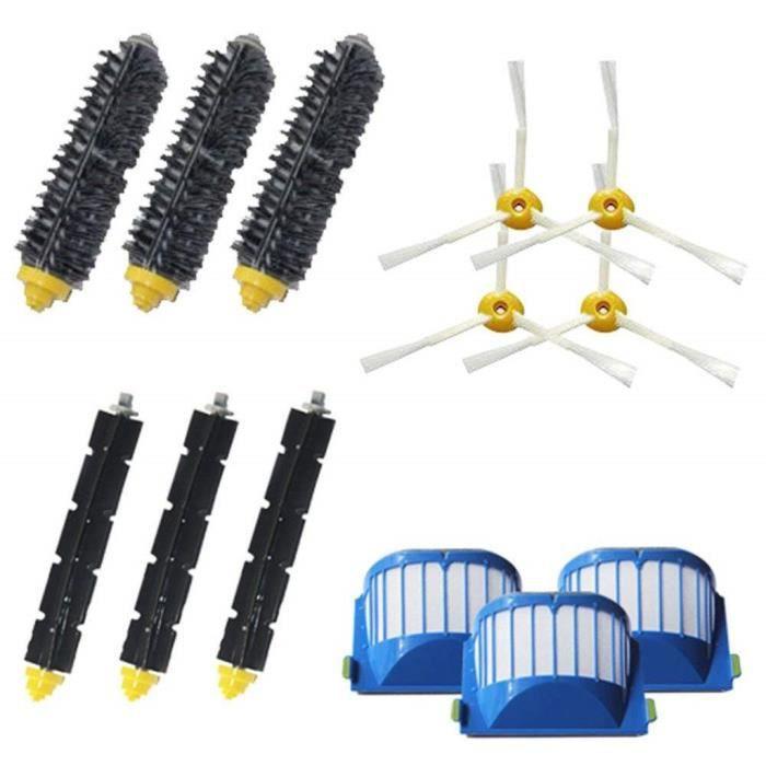 Filtres Brosse pour iRobot Roomba 600 Série 620 630 650 614 660 665 690 vide _Mo6641