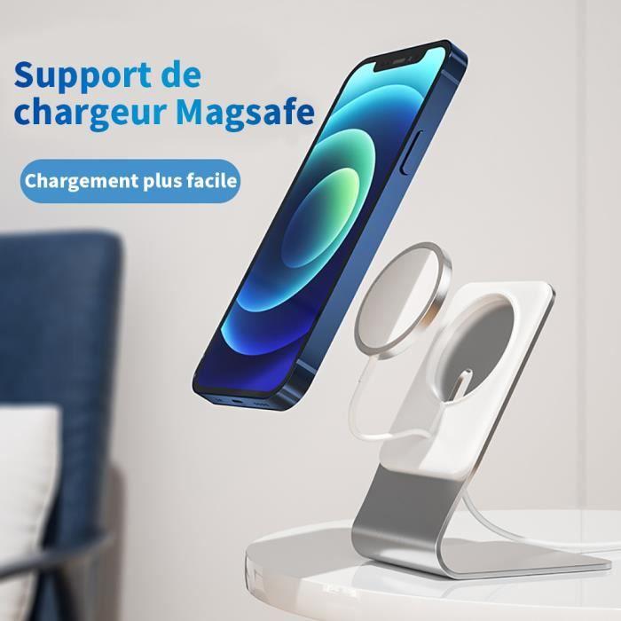 Support magnétique pour support téléphone portable MagSafe Support magnétique Le support MagSafe convient à la série Apple iPhone12
