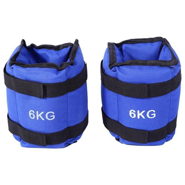 1 paire Bandes lestées pour poignets ou chevilles - (2 x 1.5kg) HB012 -KEL