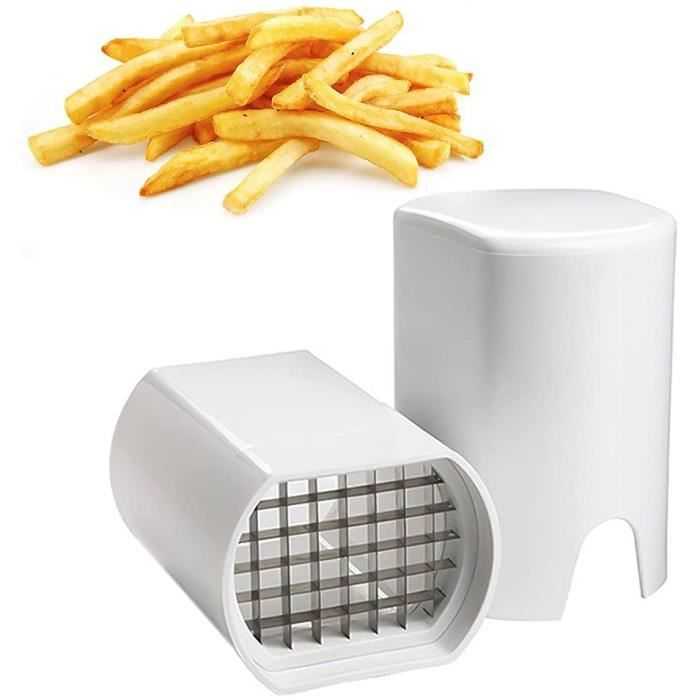 Coupe Frite, Coupe Frites Manuel, Coupe Frites Professionnel, Coupe Pomme de Terre pour Frite, Grille Coupe Frite INOX