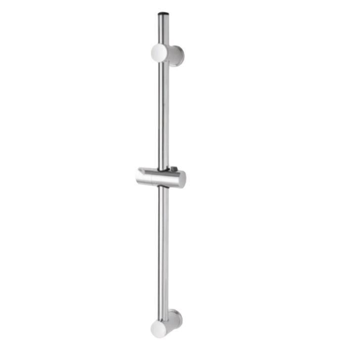 Barre de douche avec support pommeau réglable chromé accessoires 718003