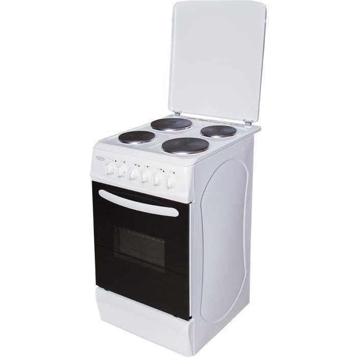 BCE50 Cuisinière Tout Electrique Blanche