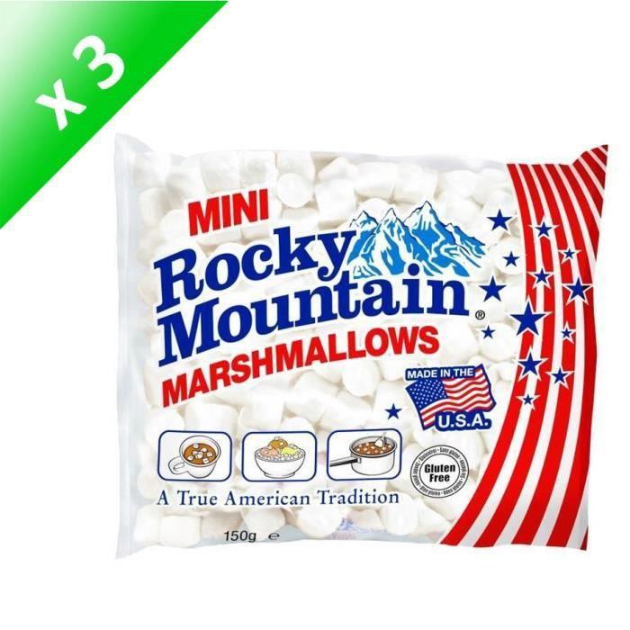 [LOT DE 3] Mini Marshmallows Blanc - 150 g
