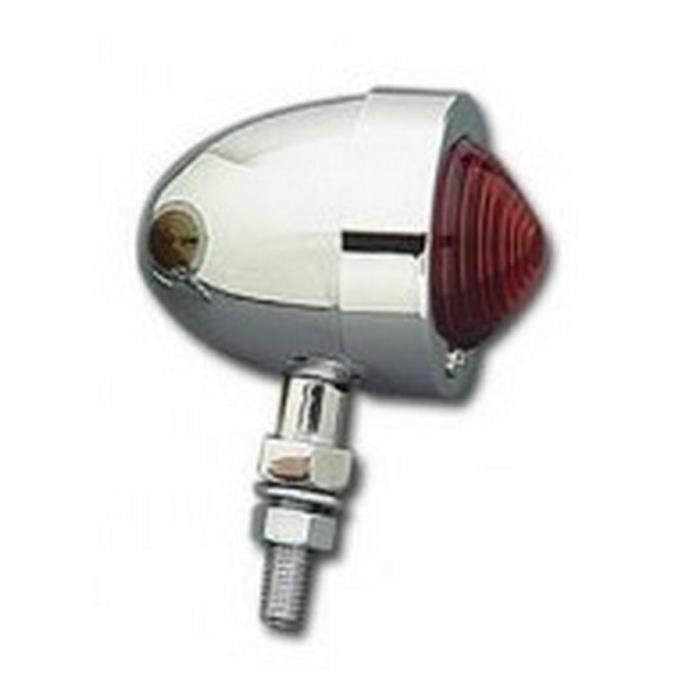 Clignotant Bullet Custom cabochon rouge