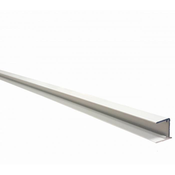 Profilé obturation 32 mm - Blanc RAL 9010
