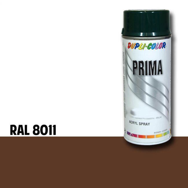 Bombe de peinture prima dupli colors (8011 - noyer) - Bombe de peinture prima dupli colors (8011 - noyer)
