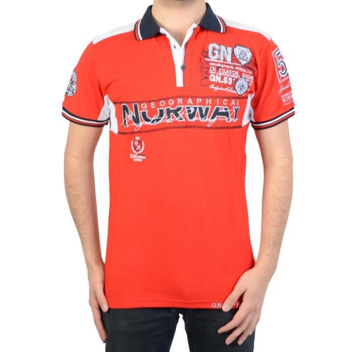 Polo Geographical Norway Kapable SS Men ASS A 100 Red
