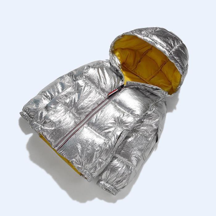Enfants fille Bébés garçons Manteaux Veste imperméable Fermeture à glissière épais survêtement à capuche ws4558