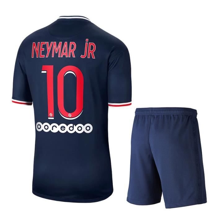 Maillot YellowS Paris 20-21 Paris maillot de football à domicile n°10 Neymar Mbappe adulte enfants personnalisé