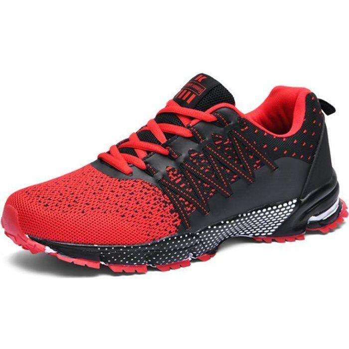 Chaussures de Sport Running Basket Homme Femme Course Trail Entraînement Fitness Tennis Respirantes EU39-EU47