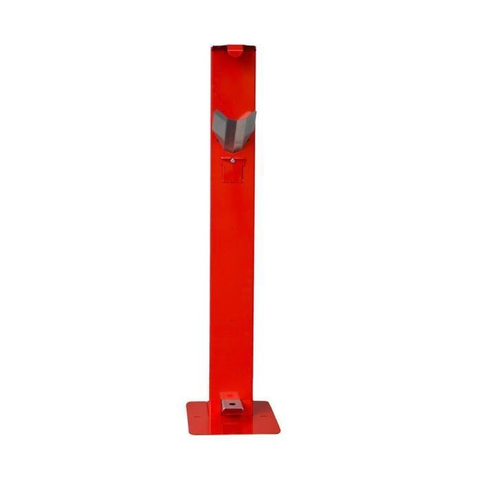 Distributeur de gel à pédale HOPLA GEL LX - Rouge - Protection Equipement