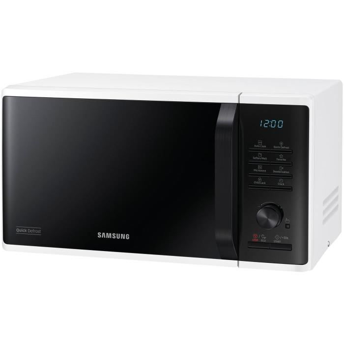 SAMSUNG Four micro-ondes 23 L 20 programmes 1150W - Blanc