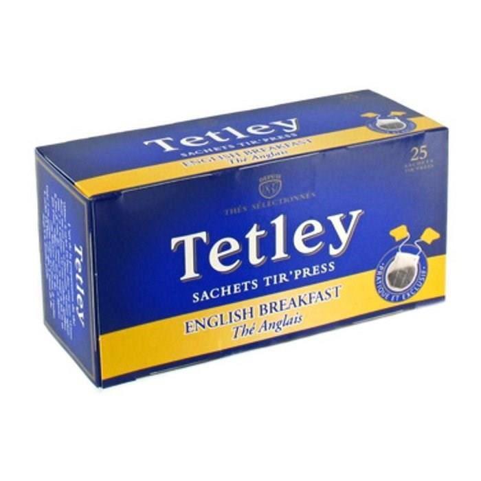 Thé anglais x 25 Tetley