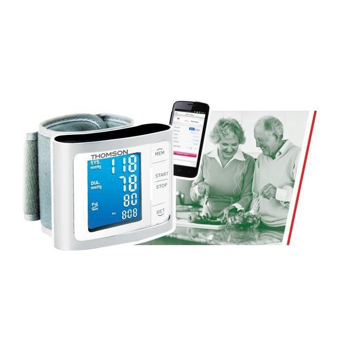 Tensiomètre poignet connecté - THOMSON Healthcare TTMB1014
