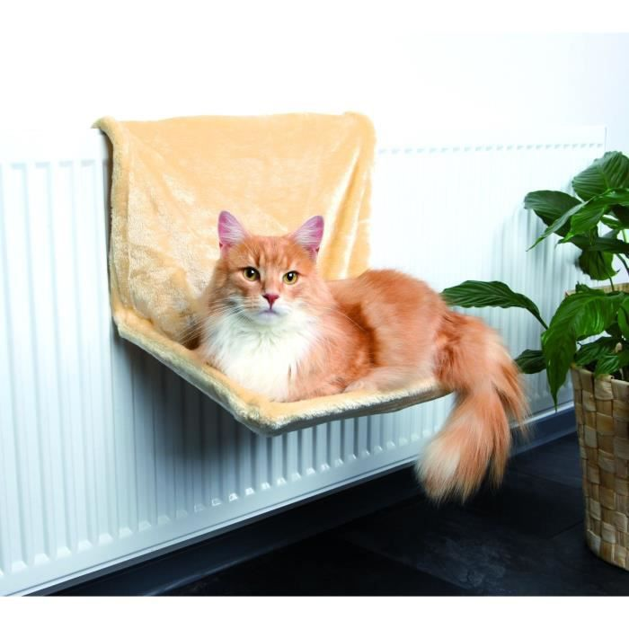 trixie hamac radiateur peluche pour chat achat vente. Black Bedroom Furniture Sets. Home Design Ideas