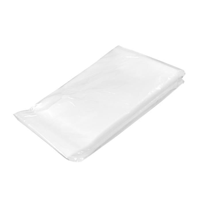 100pcs Sac Sachet Transparent pour Bonbon Biscuits Autocollant Atoxique 10 cm x 10 cm