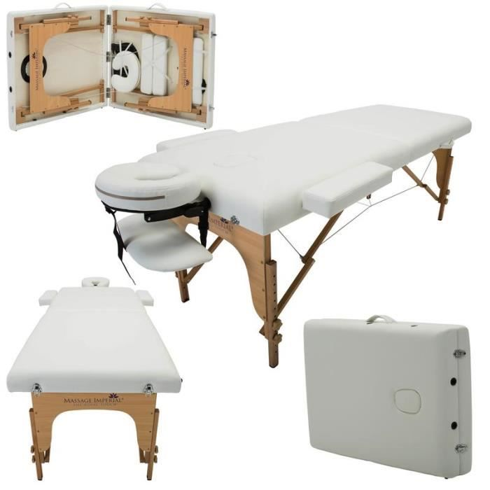 massage imperial charbury table de massage reiki l ger pro luxe blanc ivoire table 2. Black Bedroom Furniture Sets. Home Design Ideas