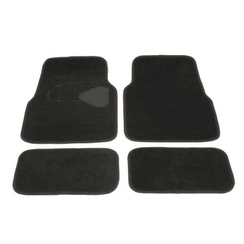 tapis de sol auto voiture universel noir achat vente tapis de sol tapis de sol auto. Black Bedroom Furniture Sets. Home Design Ideas