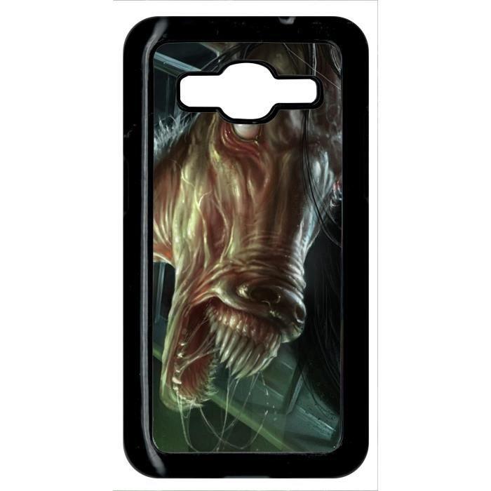 Coque samsung galaxy core prime g3608 cheval zombi