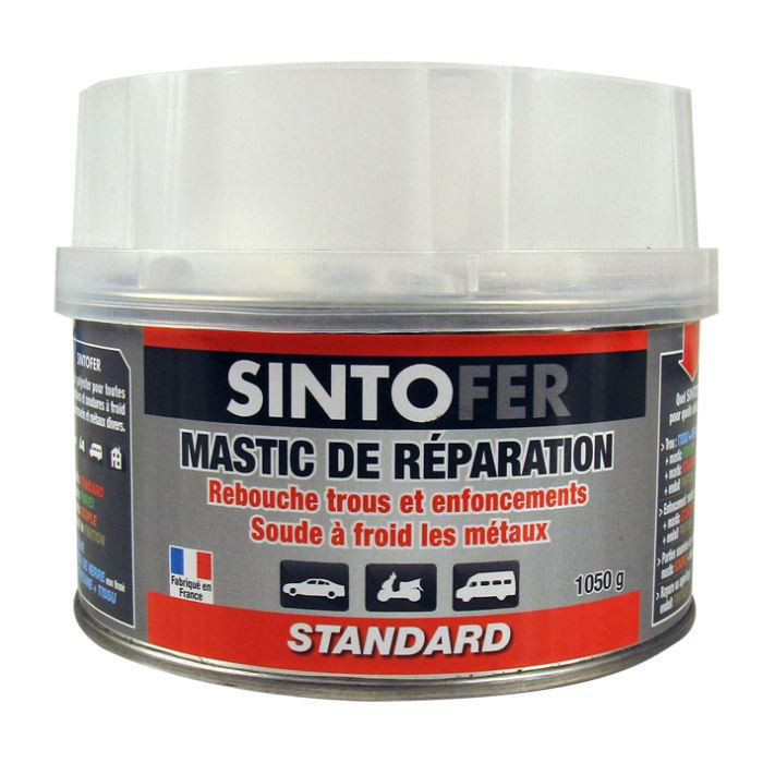 mastic de r paration standard 1050g sintofer achat vente solvant de nettoyage mastic de. Black Bedroom Furniture Sets. Home Design Ideas