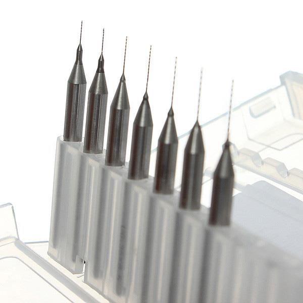 0.2 mm à 0.5 mm forets pour imprimante 3D Buse Kit de nettoyage 7 tailles